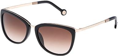 Carolina Herrera Gafas de Sol Mujer SHE04654300X (Diametro 54 mm), Color : 300x-Lente : Marr n Degradado, Talla Unica Unisex-Adult: Amazon.es: Ropa y accesorios