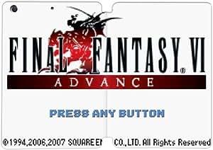 Cubierta de cuero y caja de la PC funda / soporte para funda de Apple iPad Mini 1,2,3 funda Con Magnetic reposo automático Función de despertador DIY por Final Fantasy Vi Q3O2Qs5Z1Sk