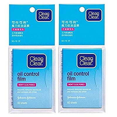 Oil Control Film Blotting Paper, Clean & Clear Oil-absorbing Sheets