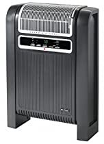 AIR King 6-1/2 x 16-11/16 x 24-15/16 Fan Forced Electric Space Heater, Black/Silver, 120VAC