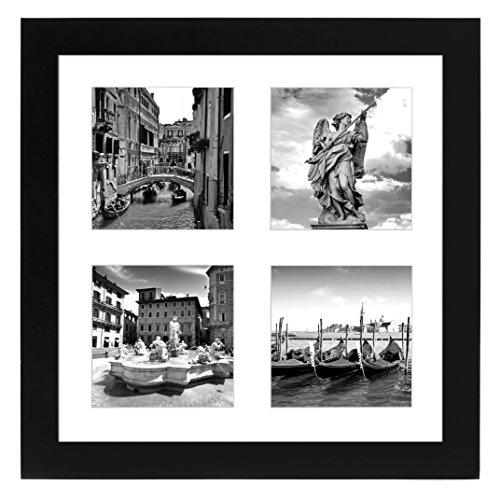 Americanflat 10x10 Collage Picture Frame Displays Four
