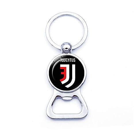 Llavero con abridor de botellas de cristal de Juventus T003 ...