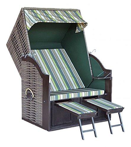 trendy by devries strandkorb trend 10 dessin 701 cappuccino gestreift g nstig. Black Bedroom Furniture Sets. Home Design Ideas