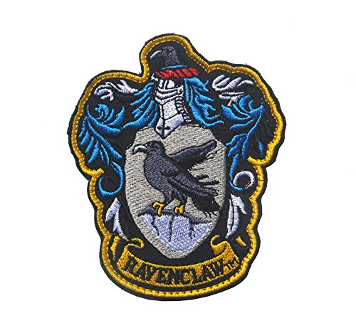 Oyster-Patch Harry Potter Hogwarts House Gryffindor/Hufflepuff/Ravenclaw/Slytherin Tactical Patch