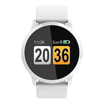 Rastreador de Fitness Nueva Q8 Pantalla a Color Reloj Inteligente Bluetooth Pulsera Inteligente para Pasos Contando