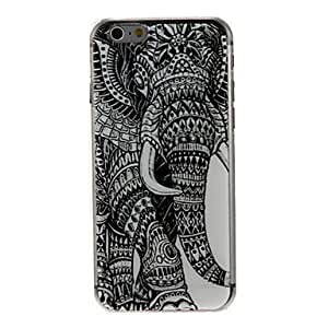 YULIN Kinston Left Side Of the Elephant Pattern PC Hard Case for iPhone 6 Plus