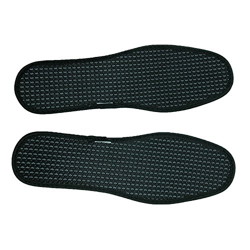 Deodorant Bamboo Charcoal Everyday Insoles Sweat-absorbent Shoe Pads,3 Pairs
