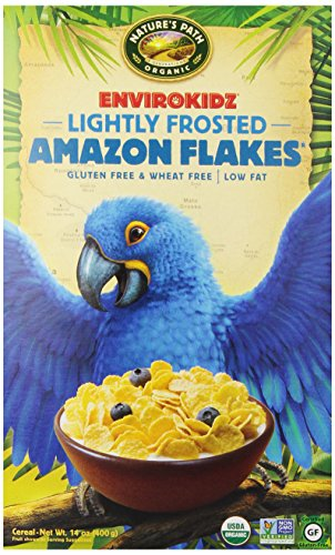 EnviroKidz Amazon Lightly Frosted Flakes Cereal, 14 oz