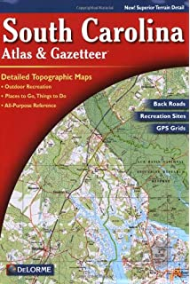Georgia Atlas Gazetteer Delorme Atlas Gazetteer DeLorme - Ga road map