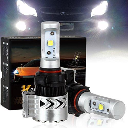 2504 PSX24W LED Headlight Bulb -XHP50 Chip Super Bright &12000Lm- 6K, Xenon White (2PCS/Set)