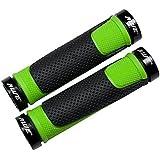 AWE® AWEGrip™ Lega MTB BMX bicicletta manubrio, manopole di bloccaggio (Verde)