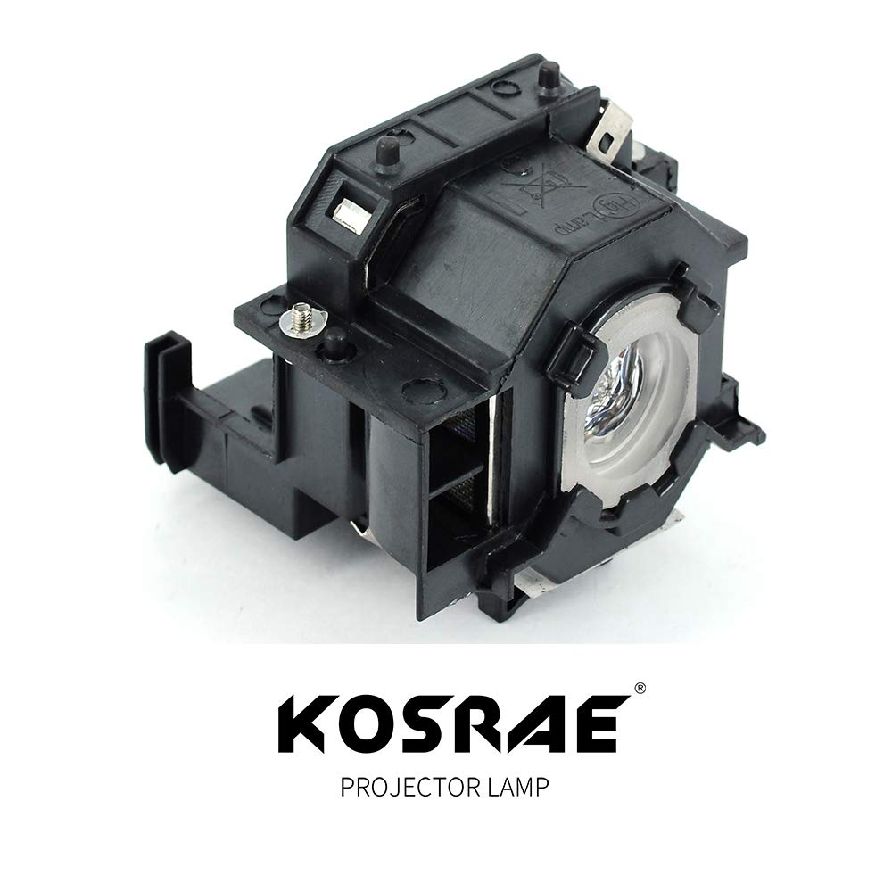 H283A H284A EX21 EX30 EX50 EX70 PowerLite 77C 78 700 S5 S6 W6 Projector KOSRAE for ELPLP41 V13H010L41 Replacement Lamp Bulb for Epson EMP-S5 EMP-X5