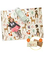 Infant Shining Baby Play Mat, 58in'x78in',0-6 Years Old Baby,Foldable Mat, Waterproof and Antislip Mat