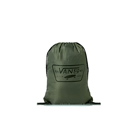 Amazon.com  VANS League Drawstring Bag - Anchorage Green  Sports   Outdoors e449f7b003aa5