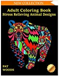 img - for Adult Coloring Book: Stress Relieving Animal Designs (Stress Relieving Designs) (Volume 1) book / textbook / text book