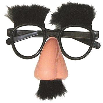 P tit Clown 40603 Lunettes - Grognon - Nez, Moustache et Sourcils en Peluche 9348e0b89927