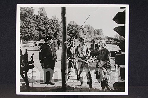 "Vintage Photo of CARROLL BAKER, GEORGE PEPPARD, ANDY DEVINE, CLAUDE JOHNSON ""How The West Was Won by..."