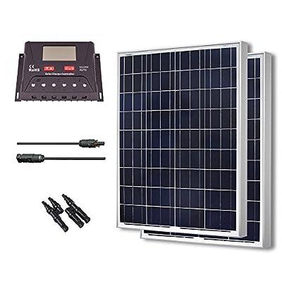 Renogy 200 Watt 12 Volt Polycrystalline Solar Bundle Kit