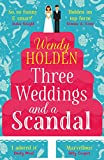 Kindle Store : Three Weddings and a Scandal: The laugh-out-loud read of the year (A Laura Lake Novel)