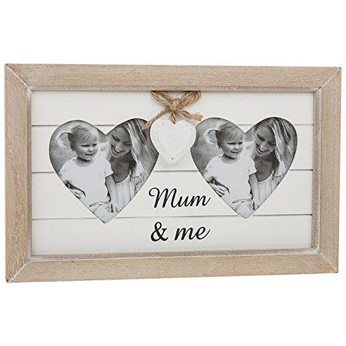 Shudehill MUM and Me shabby Chicprovence gamma cuore portafoto regalo per la festa della mamma