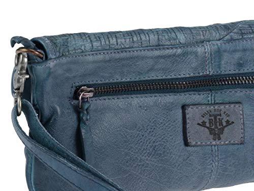 cuir Clutch Pochette Blue 30 Billy Cut the Kid Blade cm YIORwx