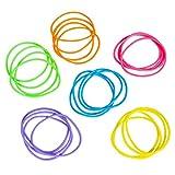 Neon Jelly Bracelets (288 pcs) [Toy]