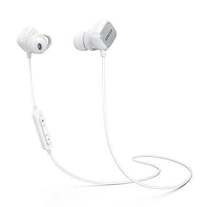 Anker SoundBuds Auriculares inalámbricos Auriculares Bluetooth, magnéticos Inteligentes con tecnología aptX, cancelación de Ruido