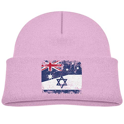 - Kocvbng I Australia and Israel Flag Beanie Caps Skull Hat Baby Boys