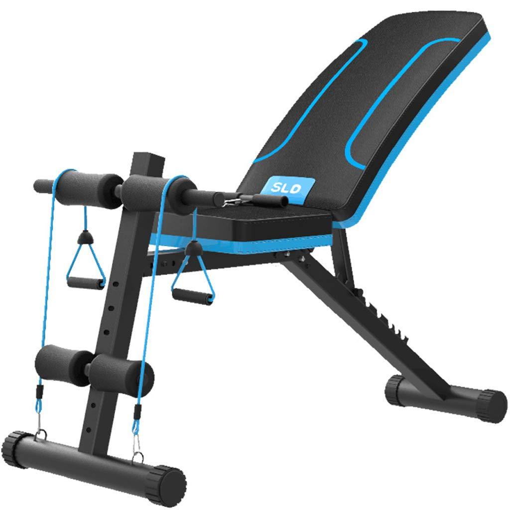 DLT Faltbarer römischer Stuhl Hyper AB Sit Up Bank, schwarz Orange Gewicht Bank Decline Incline Bank Sit Up Pad Matte, schwarz Verstellbare Übung Bank at Home Gym