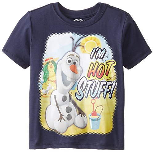 Disney Boys' Olaf I'M Hot Stuff Short Sleeve T-Shirt