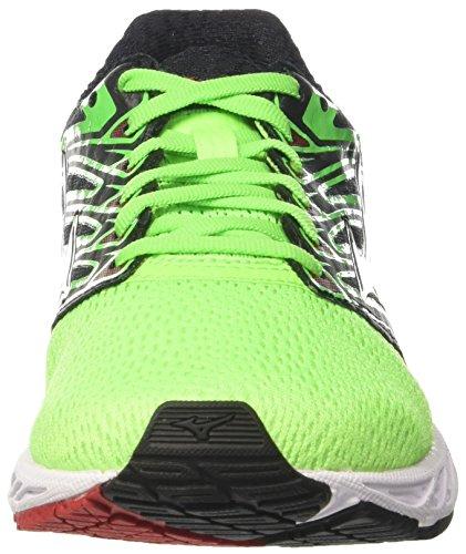 Uomo Verde Shadow greenslime Mizuno Scarpe formulaone Running Wave white Da wpxX7Yq