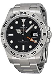 Rolex Explorer II automatic-self-wind black mens Watch 216570BKSO (Certified Pre-owned)