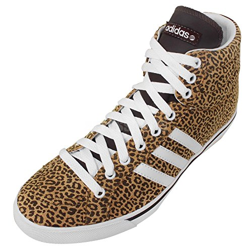 Adidas Girl's Bbpark Mid W Neo Label Leopard 4.5
