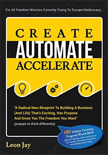 Amazon create automate accelerate a radical new blueprint to create automate accelerate a radical new blueprint to building a business and malvernweather Gallery
