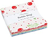 Badda Bing Charm Pack by Me & My Sister Designs; 42-5 Inch Precut Fabric Quilt Squares