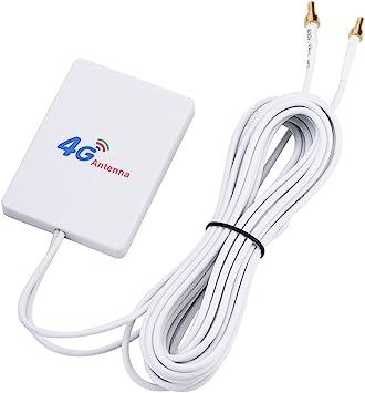 Vbestlife 28dbi Dual Mimo Antena de Amplificador de Señal de ...