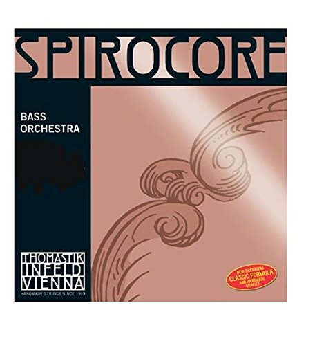 Thomastik Spirocore 3887.3 SINGLE Upright Bass D String Chrome Wound 1/2
