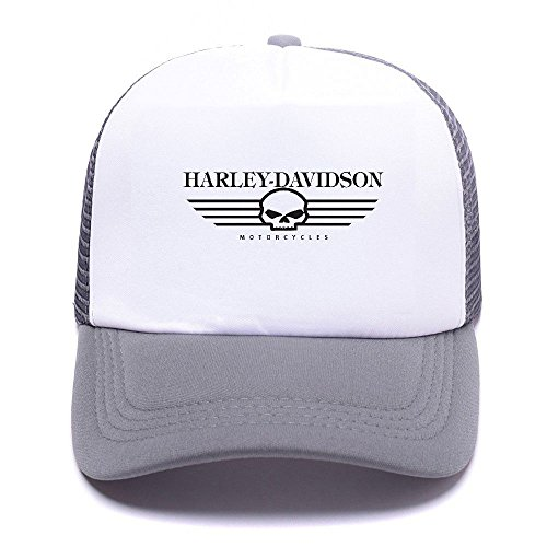 Harley de Boy Caps Baseball Cap béisbol D Trucker Men 012 For Black Women Gray Hat Gorras Mesh Girl FqwFrB