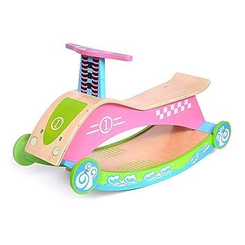 Caballitos de madera Silla mecedora para niños mecedora para niños mecedora para niños Caballo mecedora para