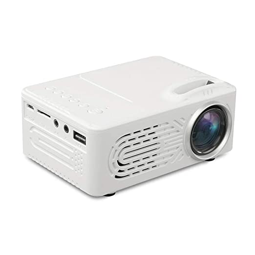 L.HPT Mini proyector portátil Home Theater 7000 lúmenes Full ...