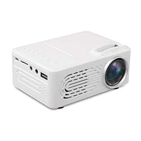 L.HPT Mini proyector portátil Home Theater 7000 lúmenes Full HD 3D ...