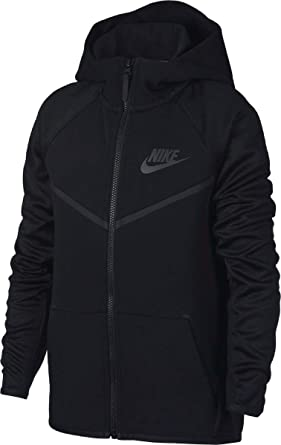 3fbc78501db5 Amazon.com  NIKE Sportswear Tech Fleece Windrunner Big Kids  (Boys ...