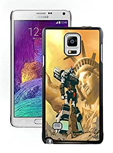 Popular Designed Case With Transformers Cover Case For Samsung Galaxy Note 4 N910A N910T N910P N910V N910R4 Black Phone Case CR-658