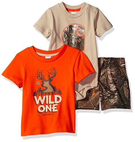 - Carhartt Baby Boys' Little Sets, Realtree Xtra Camo Wild One, 12M