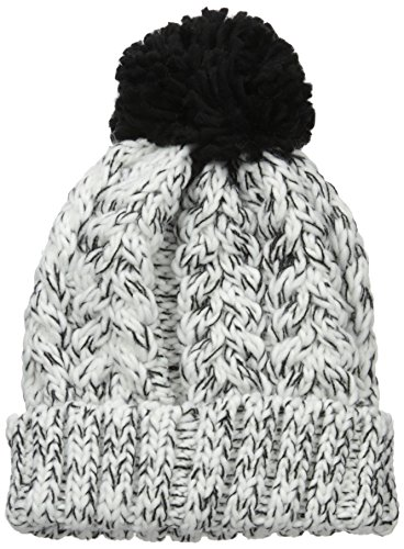 Neff Women's Kaycee Beanie, Black/White, One Size