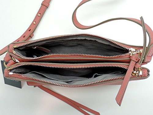Crossbody Gally Vince Handbag Leather Genuine Camuto Pink qxvUP