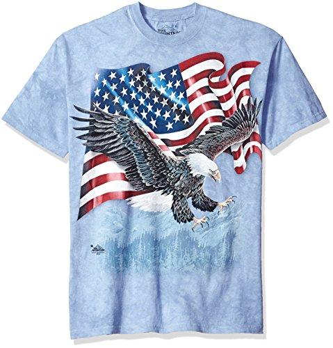 Eagle Flag Adult T-Shirt - 1