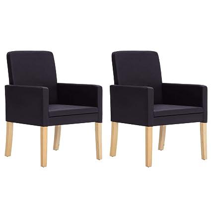 vidaXL - 2 sillones de Relax, tapizados, con Respaldo, de ...