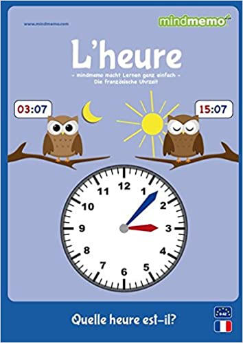 mindmemo lernfolder lheure quelle heure est il die uhrzeit auf franzsisch lernen zusammenfassung 9783954131006 amazoncom books - Zusammenfassung Franz Sisch