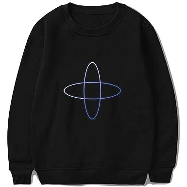 dd5e6554a13c Amazon.com: 2019 Autumn Winter New Kpop Group TXT Hoodie Tomorrow X  Together Hoodies: Clothing